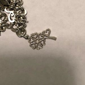A 7 heart flower from James Avery